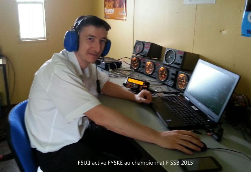 F5UII opérant FY5KE