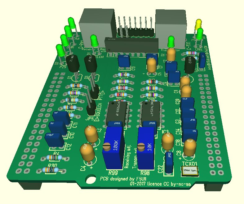 MMDVM Shield for STM32F4