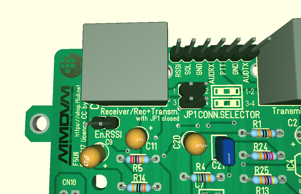 STM32 Nucleo  MMDVM shield