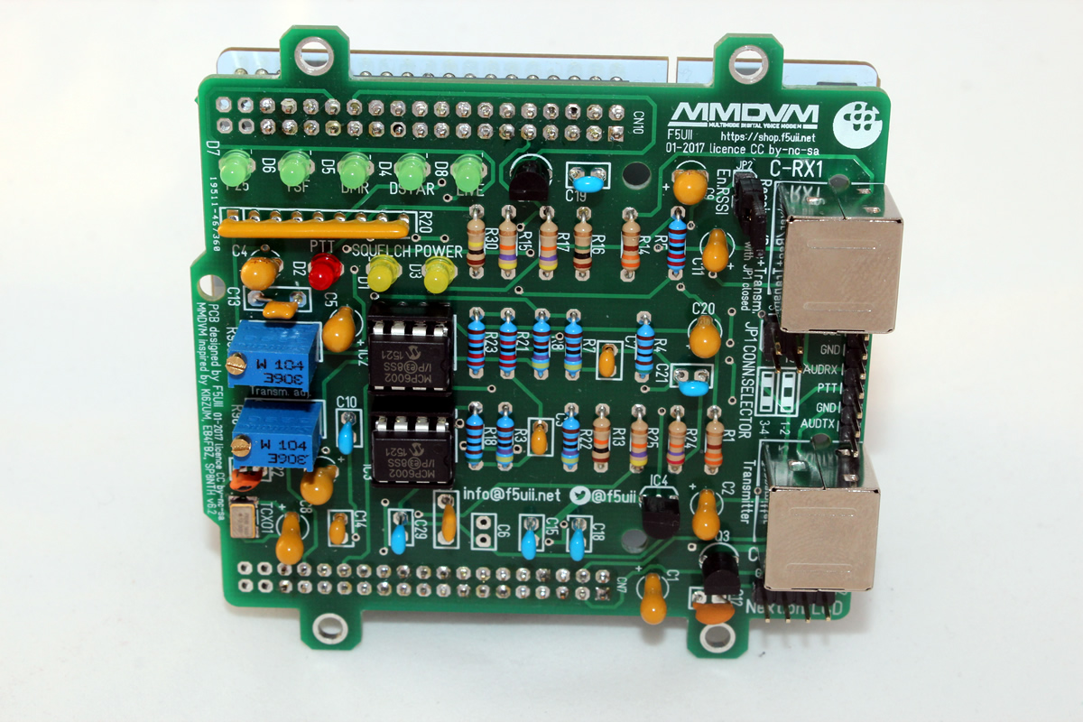 STM32F4 MMDVM F5UII mmdvm shield for stm32 nucleo (diagram, pcb gerber, bom)  at readyjetset.co