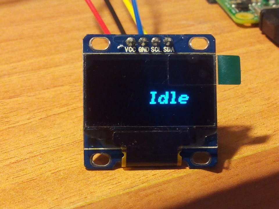 Installing an OLED display on a MMDVM repeater   HamDigitaal nl