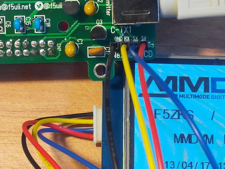 Programming a Nextion display for a MMDVM repeater