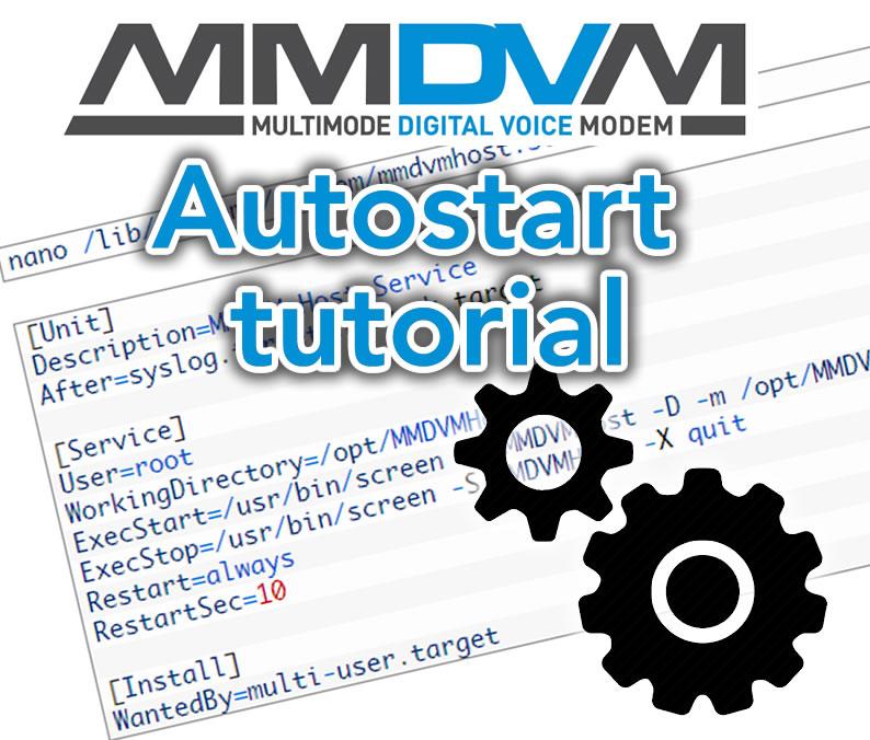 Run MMDVM automatically